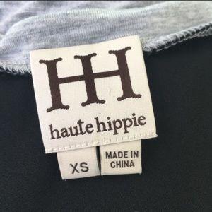 Haute Hippie Tops - Haute Hippie Mixed Media Tank